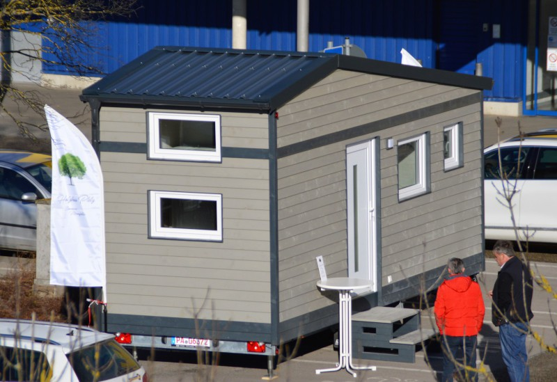 Tiny Houses | Fahrbares Haus mit Holzhaus auf Rädern
