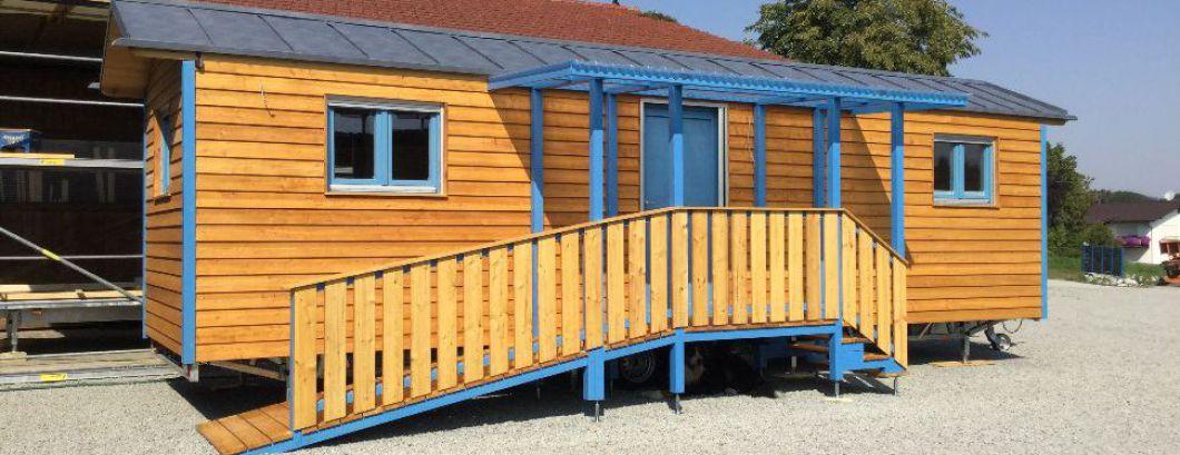 Tiny Houses barrierefrei für mobiles Wohnen