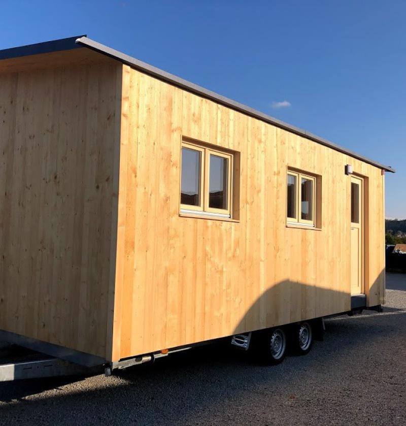 Tiny House für ein Grundstück am Waldrand