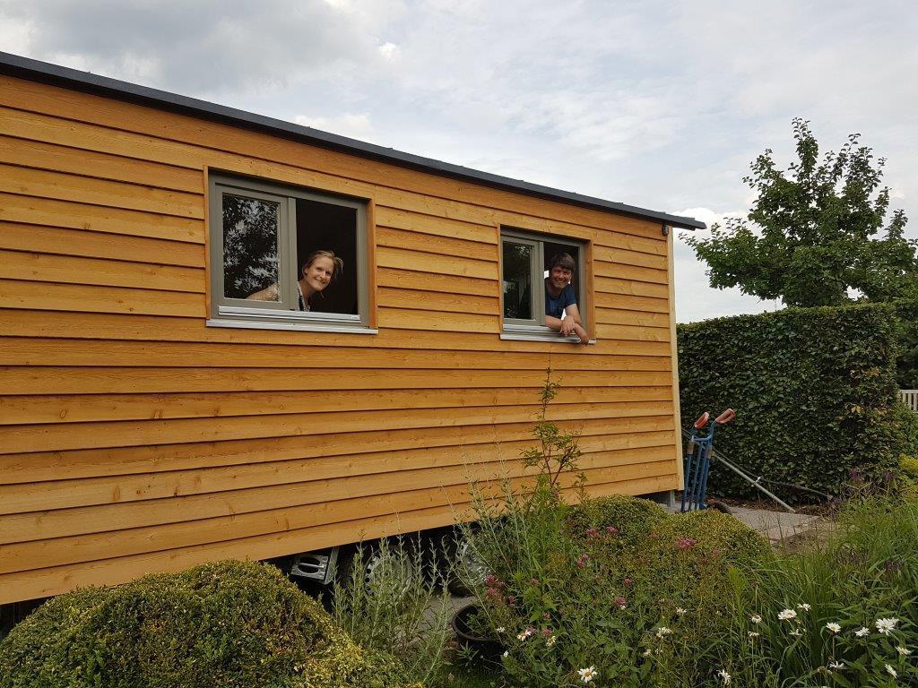 Haus auf Rädern | fahrbares & rollendes Gartenhaus