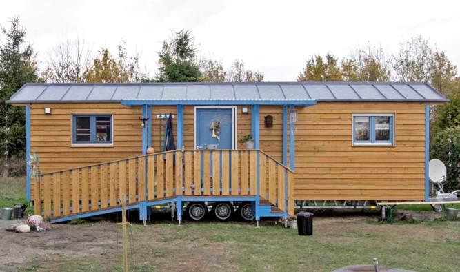 Tiny House barrierefrei als Dauerwohnsitz