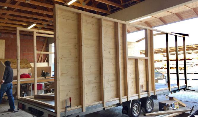 Tiny House DIY zum selber Bauen