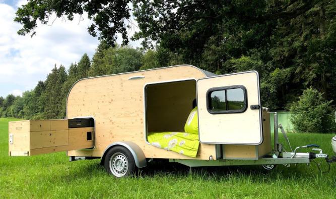 Wohnwagen Woody 2.0 für Caravan Reisen