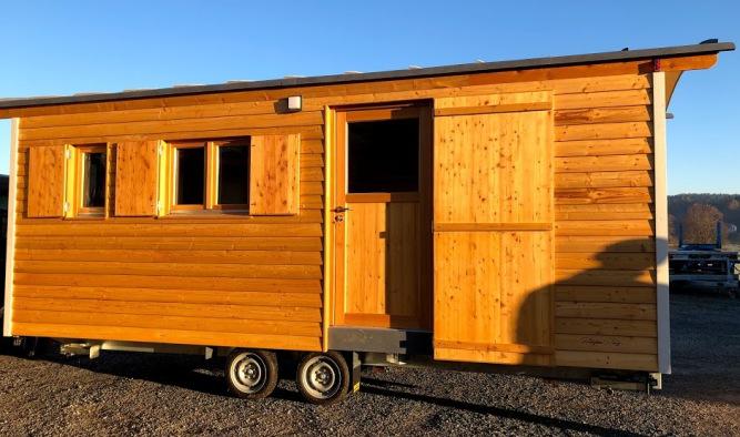 Tiny House als mobiler Besprechungsraum