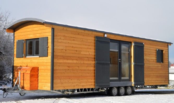 Tiny House als mobile Wohnung in Irland