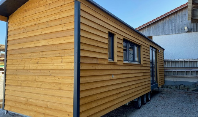 Tiny House für Eigenausbau von Tiny House Hersteller kaufen