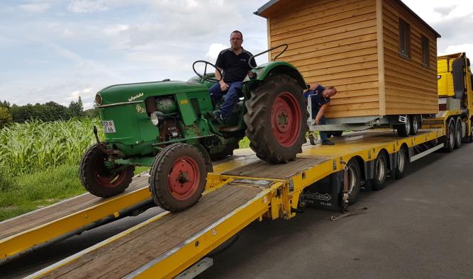 Atemberaubend Anhänger für Auto & Traktor   Zirkuswagen Fahrzeugbau #QB_65